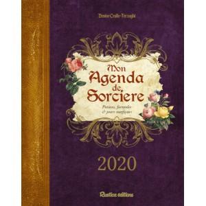 Mon agenda de sorcière 2020 de Denise Crolle-Terzaghi, agenda annuel Rustica éditions