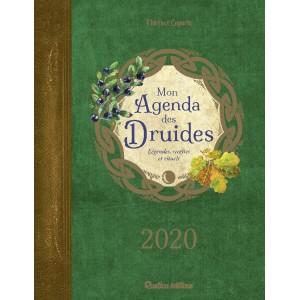 Mon agenda des druides 2020 de Florence Laporte, agenda annuel Rustica éditions