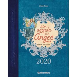 Mon agenda des anges 2020 de Elodie Dracon, agenda annuel Rustica éditions