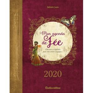 Mon agenda de fée 2020 de Nathalie Cousin, agenda annuel Rustica éditions