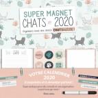 Super magnet Chats 2020 de Marica Zottino, organiseur magnétique complet aux éditions Rustica