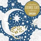 Calendrier à colorier Cosmic Cats 2020 de Marica Zottino, éditions Rustica
