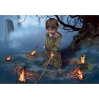 Ananxis, à l'aube de son destin, carte postale féerique de Brucero