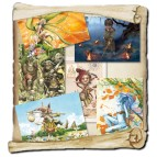 6 cartes postales de Brucero: Druiz, la prophétie perdue