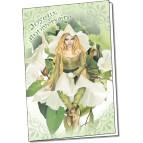 Carte d'anniversaire La fée magicienne de Brucero