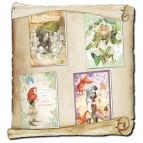 4 cartes d'anniversaires féeriques de Brucero