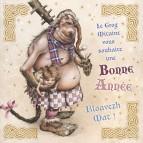 Carte de vœux «Le Grog Mitaine vous souhaite une Bonne Année» de Brucero