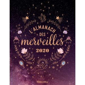 L'almanach des merveilles 2020 des éditions Rustica