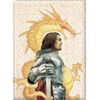 Magnet déco Roi Arthur de Brucero, collection Légende Arthurienne