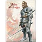 Uther Pendragon de Brucero, un magnet pour frigo de la collection Légende Arthurienne