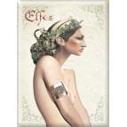 Aimant décoratif Elfes de Brucero, collection magnets féeriques