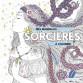 Mes mandalas de sorcières à colorier de Marica Zottino, livre de coloriages pour adultes aux éditions Rustica