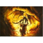"Carte Postale ""Dragon Feu"" de Elian Black'Mor (Coll. Les Dragons)"