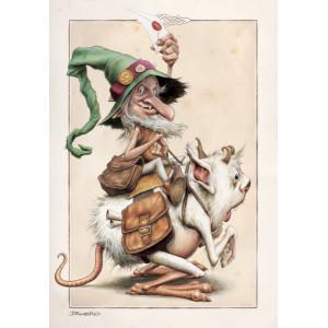 Carte postale de Brucero: L'O'postum