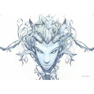 Carte postale de Brucero: Nantosuelta, déesse de la Nature