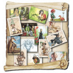 14 cartes postales féeriques de Brucero