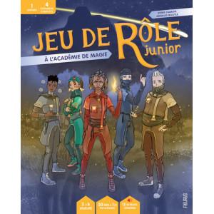 Jeu de rôle junior: A l'académie de magie de Denis Hamon et Arnaud Boutle, éd. Fleurus