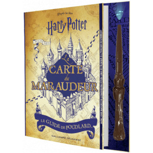 Harry Potter La carte du Maraudeur, le guide de Poulard