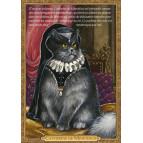 Carte postale chat historique de Séverine Pineaux, Catherine de Minetdicis – Histochats 2020