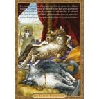 Carte postale chat historique de Séverine Pineaux, Les Chats fainéants – Histochats 2020