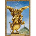 Carte postale chat historique de Séverine Pineaux, Le Chat-Ange St Minet – Histochats 2020