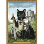 Carte postale chat historique de Séverine Pineaux, Le Connétable du Félin – Histochats 2020