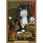 Carte postale chat historique de Séverine Pineaux, Chat de la Fontaine – Histochats 2020