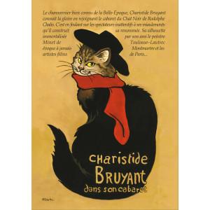 Carte postale chat historique de Séverine Pineaux, Charistide Bruyant – Histochats 2020