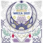 Calendrier à colorier 2021 Wicca de Marica Zottino, calendrier mural Rustica éditions