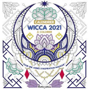Calendrier Rustica 2021 Marica Zottino – Calendrier à colorier Wicca 2021, Rustica éditions