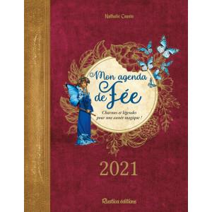 Mon agenda de fée 2021 de Nathalie Cousin, agenda annuel Rustica éditions