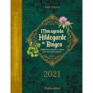 Mon agenda Bien être Hildegarde de Bingen 2021 de Sophie Macheteau, éditions Rustica