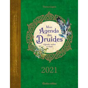 Mon agenda des druides 2021 de Florence Laporte, agenda annuel Rustica éditions