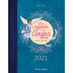 Mon agenda des anges 2021 de Elodie Dracon, agenda annuel Rustica éditions