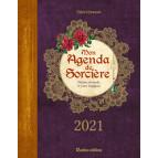 Mon agenda de sorcière 2021 de Denise Crolle-Terzaghi et Marie D'Hennezel, agenda annuel Rustica éditions