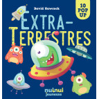 Extraterrestres 10 pop-up de David Hawcock, éditions Nui-Nui jeunesse
