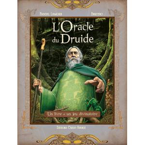 L'Oracle du druide de Pascal Lamour et Brucero, coffret divinatoire aux éditions Ouest-France