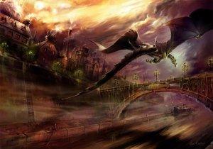Carte Postale De Elian Black'Mor, Dragon de la Tamise - Piste des Dragons