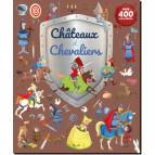 Châteaux et chevaliers: 400 autocollants, Piccolia 9782753066335