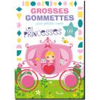 Grosses gommettes pour petites mains: Les princesses, Piccolia 9782504211137