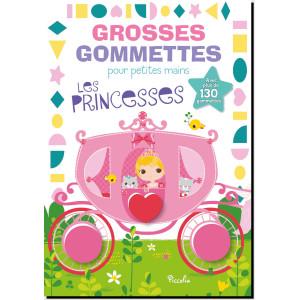 Grosses gommettes pour petites mains: Les princesses, Piccolia