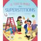 Tour du monde des superstitions de Véronique Barrau, illustré par Thomas Tessier, éditions Rue des enfants
