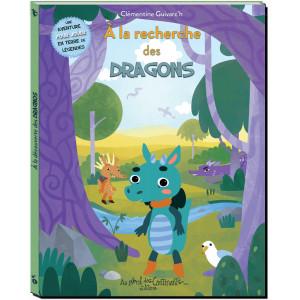 A la recherche des Dragons de Clémentine Guivarc'h, éd. Au Bord des Continents