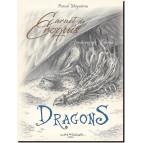 Carnet de croquis Dragons, Archives de Féerie de Pascal Moguérou, éd. Au Bord des Continents
