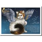 Carte postale Chat Vierge de Séverine Pineaux – Chats du Zodiaque