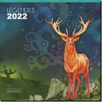 Calendrier celtique 2022: Légendes de Brucero