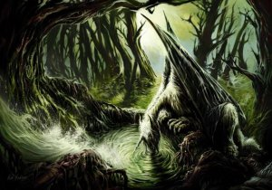Carte Postale De Elian Black'Mor, La Licorne ailée - Piste des Dragons