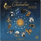 Calendrier Chats du Zodiaque 2022 de Séverine Pineaux, éd. Au Bord des Continents...
