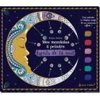 Mes mandalas à peindre – Esprits de la nuit de Marica Zottino, bloc de coloriage pour adultes, éditions Secret d'étoiles