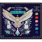 Mes mandalas à peindre – Esprits du vent de Marica Zottino, bloc de coloriage pour adultes, éditions Secret d'étoiles